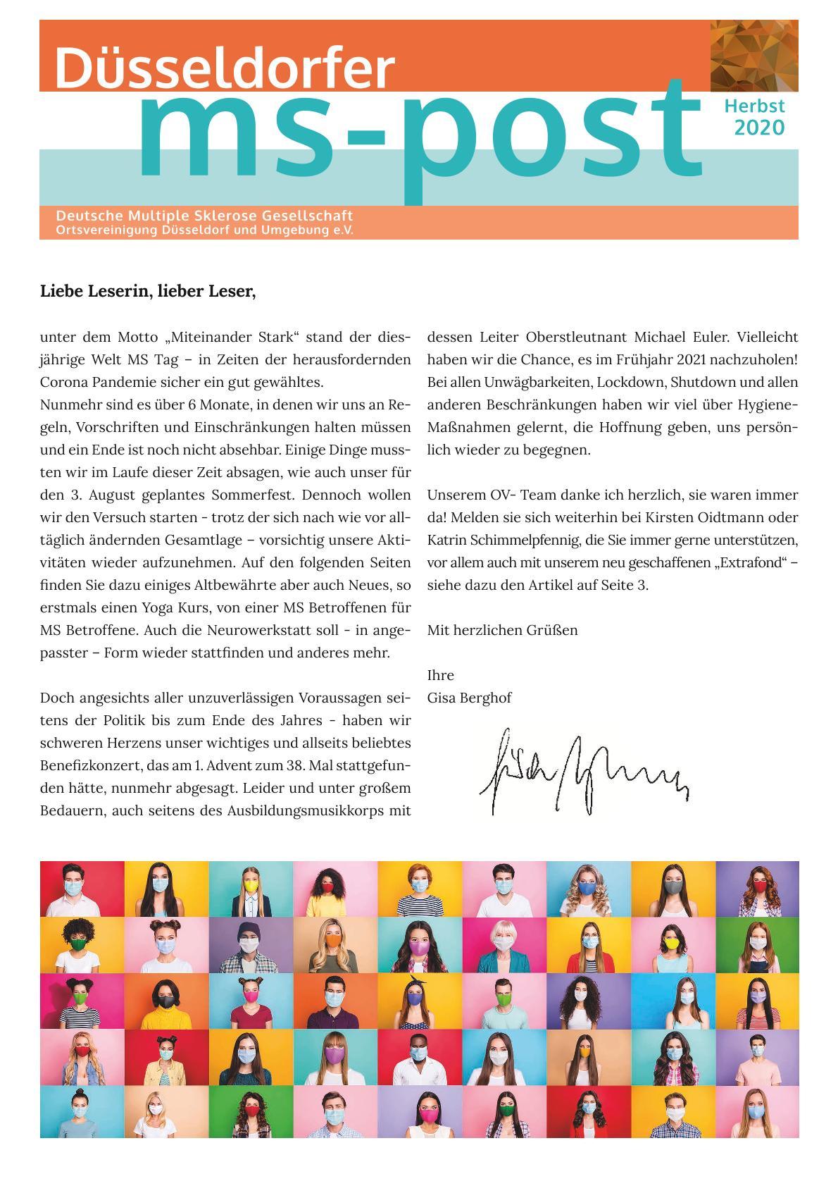 MS-Post Ausgabe Herbst  2020